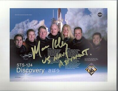 DISCOVERY STS-124 ASTRONAUT; MARK KELLY. AUTOGRAPH, HAND SIGNED