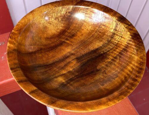 Hawaiian Fiddle Curl KOA Wood Art Bowl ~Gallery & Collector Quality~Gift (b-20)