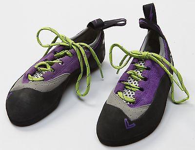 Women's Evolv Nikita TRAX Rock Climbing Caving Shoes Size Sz EU 35.5 US 5.5 NEW