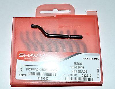 Shaviv E200 Hss Cutter Deburring Blade 151-29040 Or 29040 Pkg Of 10