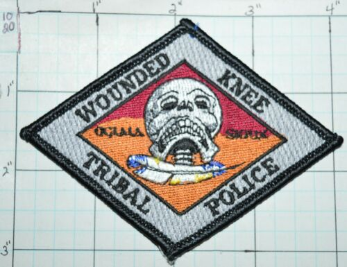 SOUTH DAKOTA, WOUNDED KNEE TRIBAL POLICE PINE RIDGE INDIAN RESERVATION PATCH