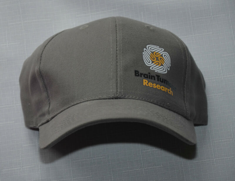 46c5460f Baseball Cap - Grey - Brain Tumour Research