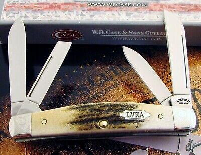 Case Stag Congress Knife 2005 Encyclopedia Knife 1 Of 350 INCREDIBLE Stag! NR