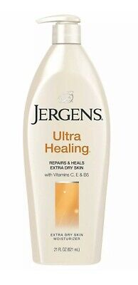 Jergens Ultra Healing Lotion Moisturise Nourishes & Heal For Extra Dry Skin 21oz