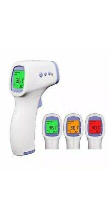 Termometro Digitale Frontale Infrarossi p Febbre Senza Contatto Auricolare