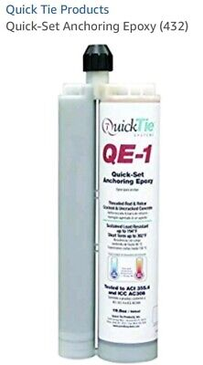 Anchoring Epoxy Concrete Quick Tie Qe-1