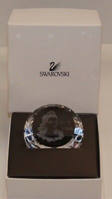 RARE Swarovski Crystal 2000 Columbine Large Paperweight 60mm Brand New Boxed $60