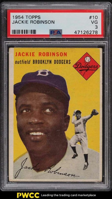 TOPPS PROJECT 2020 #224-1952 Jackie Robinson by Don C PRun