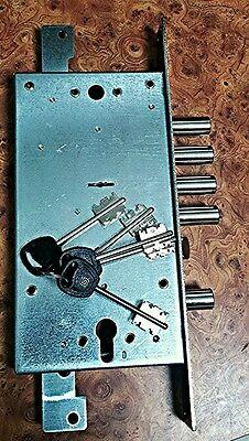 Guardian Lock Super High Security Lever 4 Motions Door Main Lock 5 Keys