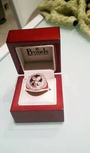 9K SOLID GOLD & DIAMOND EAGLE RING (RRP $1200) Thornlie Gosnells Area Preview