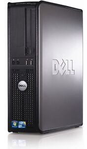 PC DELL OPTIPLEX 380 INTEL CORE 2 DUO E8500 2x 3,16GHz 160GB HDD 2GB RAM DESKTOP