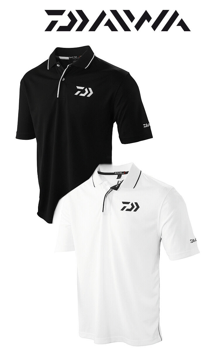 Daiwa Vector Performance Fabric Polo Shirt Various Sizes