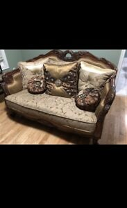 6 piece sofa set and coffee tables