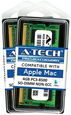 8GB 2x 4GB PC3-8500 1066 1067 MHz for Apple MacBook Pro iMac Mac mini MEMORY RAM for sale  Shipping to India
