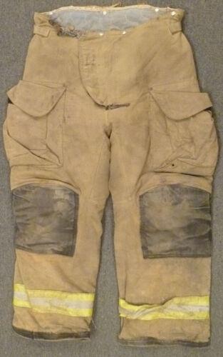 36x29 Firefighter Pants Bunker Turnout  Fire Gear Janesville Fire Fighter P947