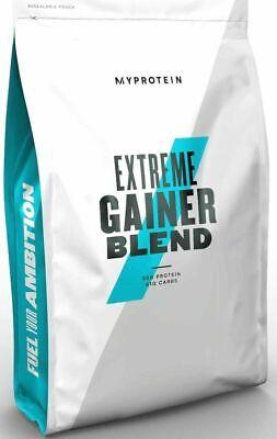 Extreme Weight Gainer (MyProtein Hard Gainer Extreme 2,5kg Weight Mass Gainer Unflavoured Pulver 2500g)
