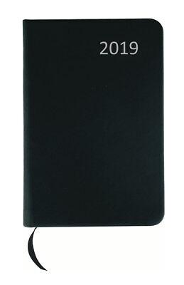 / ca DIN A7 / mit PU Einband / Farbe: schwarz (Kalender Mit Taschen)