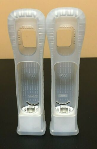 2 OEM Authentic Nintendo Wii Motion Plus Adapters - Cleaned & Tested - Free Ship