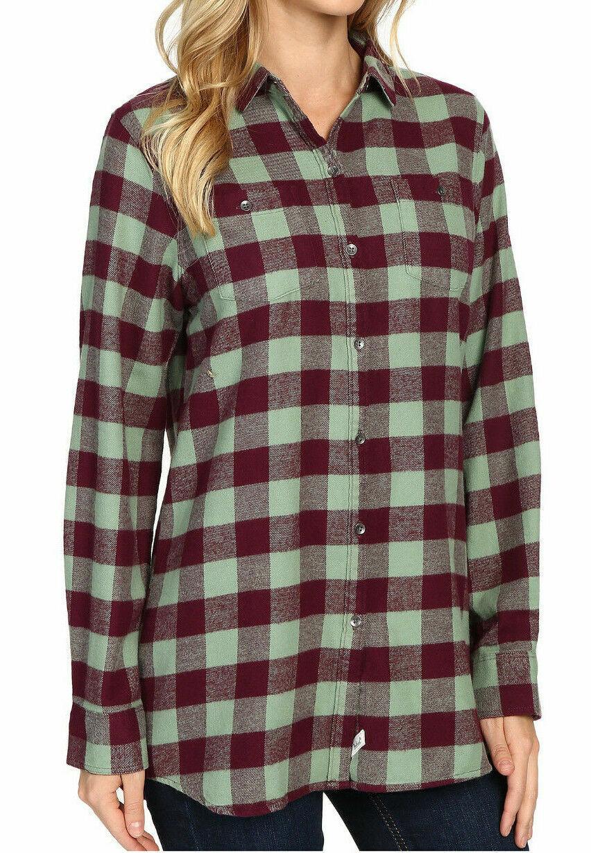 Women's Woolrich Flannel Shirt Boyfriend Flannel Plus NWT Li