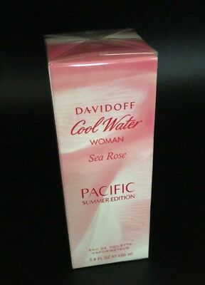 Cool Water Sea Rose Pacific Summer By Davidoff Edt Spray 3 4 Oz Limited Edition