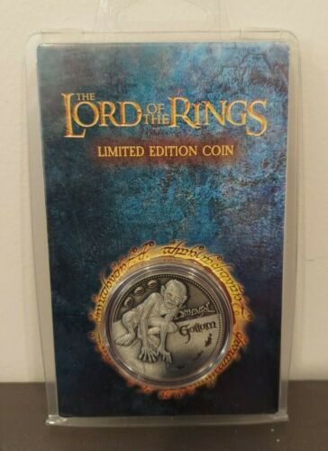 The Lord of the Rings Gollum Limited Edition Coin - Individually numbered