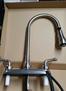 RV KITCHEN SINK FAUCET PULL OUT SPRAYER 15