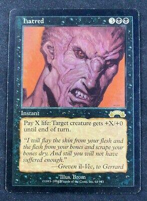MTG Magic The Gathering Hatred Exodus HP