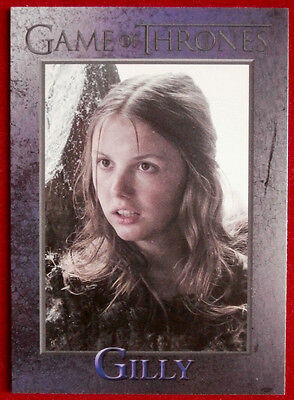 GAME OF THRONES - GILLY - Season 3, Card #79 - Rittenhouse - 2014