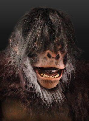 Schimpanse Deluxe Maske Affenmaske Schimpansenmaske mit beweglichem Kiefer