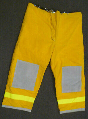 48x29 Janesville Pants Firefighter Turnout Bunker Fire Gear W Liner P999