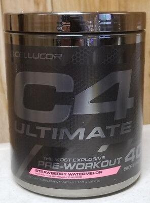 Cellucor C4 Ultimate Most Explosive Pre-Workout 40 srv Strawberry Watermelon