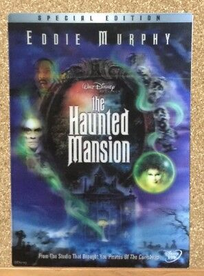 "3D Mouse Pad The Haunted Mansion Eddie Murphy ""Not For Sale"" Japan"