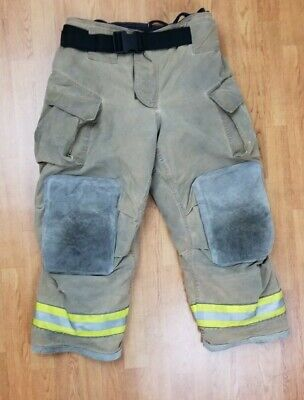Cairns Mfg. 2014 Firefighter Turnout Bunker Pants 36 X 28