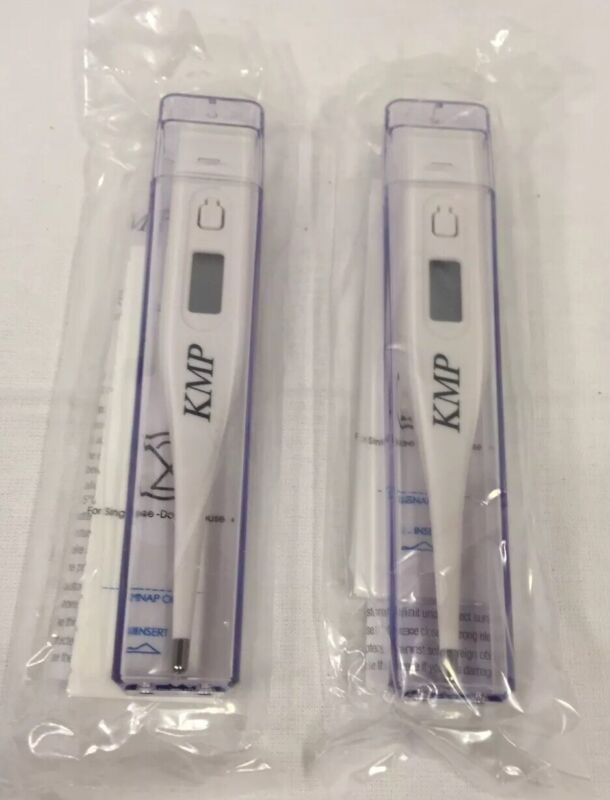 Kerma KMP Digital Thermometer Dual Scale Oral / Rectal  413EKM-00 New Sealed