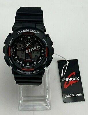 Casio G-Shock GA100-1A4 Mens Military Army Quartz Watch