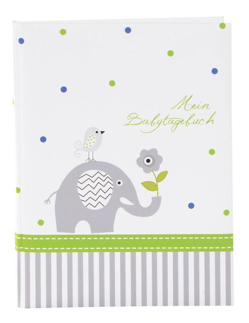 Goldbuch Babytagebuch Babyworld Wal 11329 -  44 illustrierte Seiten