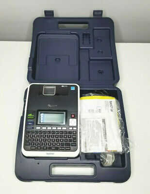 Brother P-touch Pt-2730 Thermal Label Printer With Charger Case