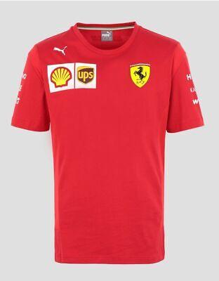 NEW 2019 Scuderia FERRARI F1 Charles LECLERC Driver T Shirt Tee MENS - OFFICIAL