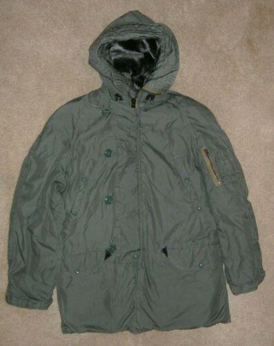 1980 Medium N-3B N3B Extreme Cold Weather Fur Hood USAF Parka
