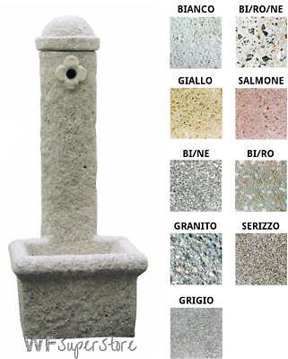 Fontana in pietra ricostruita Mara - fontanella esterno giardino