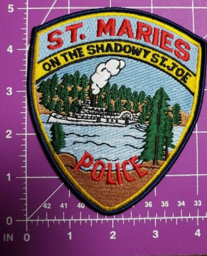 St. Maries Indiana Police patch
