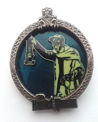 Disney Pin WDW - White Glove - Haunted Mansion - Groundskeeper Pin LE