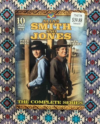 Alias Smith And Jones The Complete Series DVD, 2010, 10-Disc Set  - $19.99
