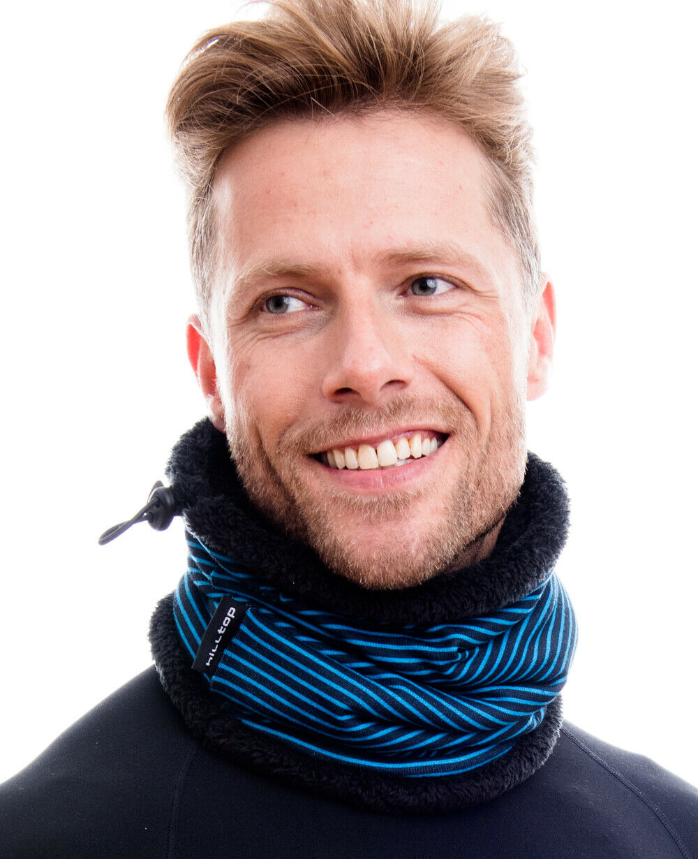 Hilltop Polar Schal mit Teddy Fleece / Wendemütze oder Sparset Schal & Beanie