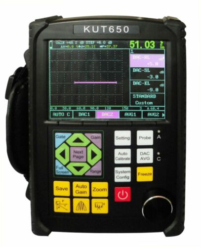 Portable Ultrasonic Flaw Detector UT Flaw Detection D-Delay P-Delay 0 to 10000mm