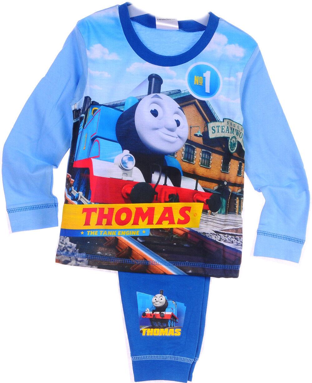 THOMAS Baby Kinder Pyjama SET 80 86 92 98 104 110 Schlafanzug LA T-Shirt Hose