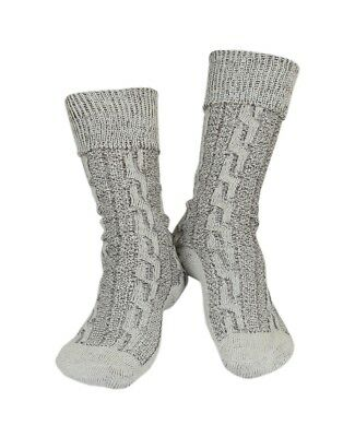 Oktoberfest Lederhosen German Bavarian Men's Beige Brown Mix Socks Pairs - Lederhosen Socks