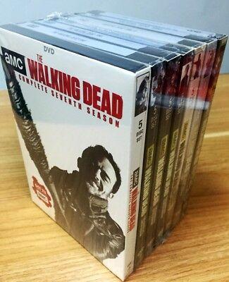 Walking Dead Complete Seasons 1 7 Season 1 2 3 4 5 6 7 Dvd Set Bundle  New