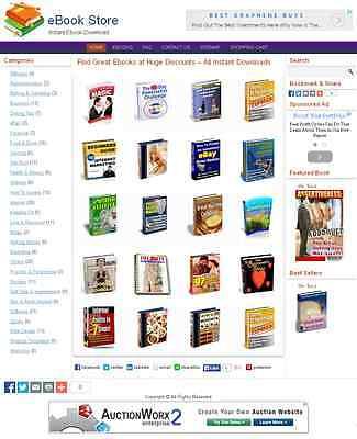 Ebookdownload Shop Website For Sale 255 Ebooks Included Free Hostinginstall