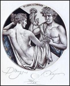 Kerin Hristo C3 Exlibris 2015 Mythology Dionysus Erotic Nude Grapes Woman 177 - <span itemprop=availableAtOrFrom> Dabrowa, Polska</span> - Kerin Hristo C3 Exlibris 2015 Mythology Dionysus Erotic Nude Grapes Woman 177 -  Dabrowa, Polska